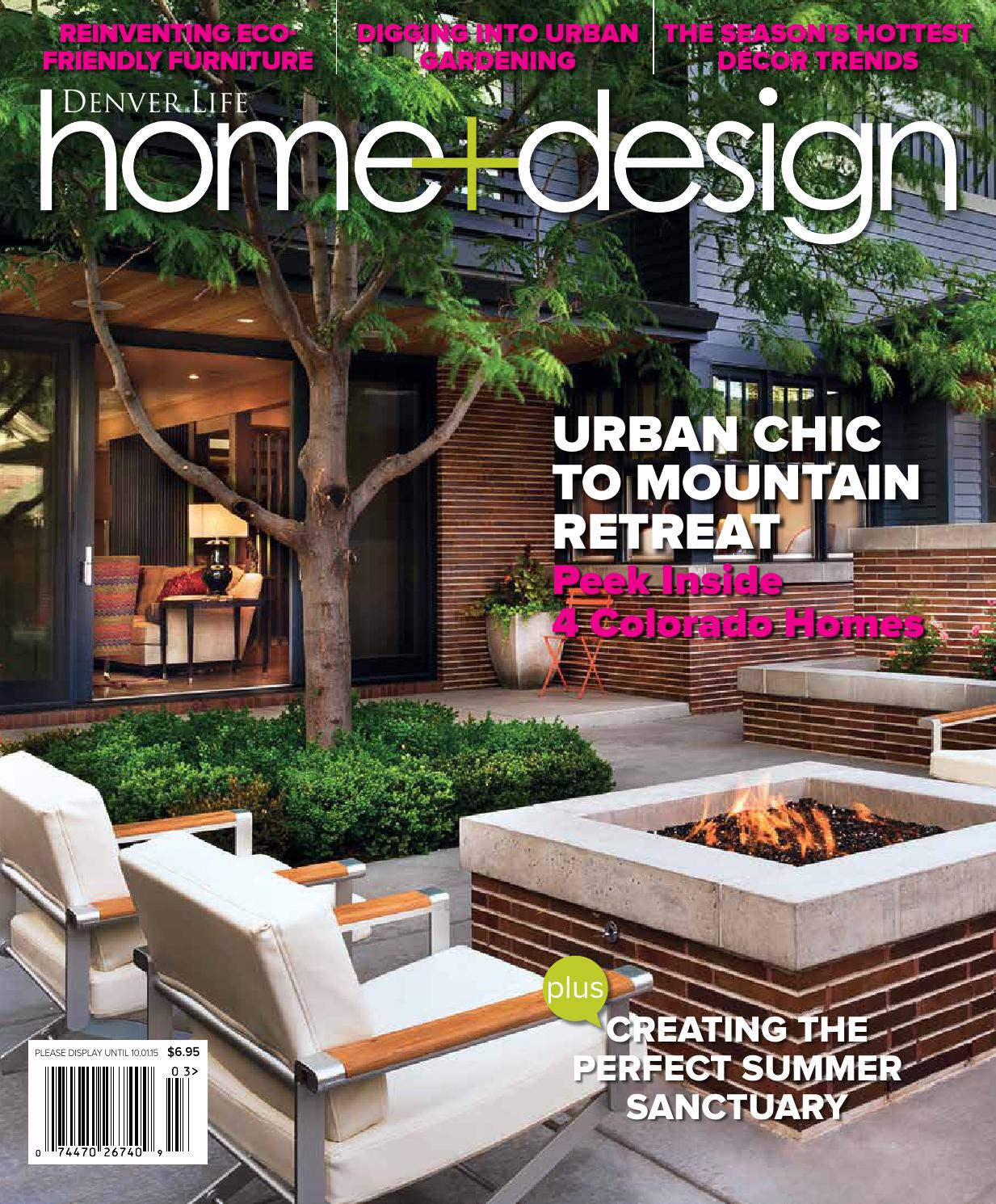 Denver Life Home Design Summer 2015 By Issuu Using Circuit Boards The Designer Created Two Chic Board