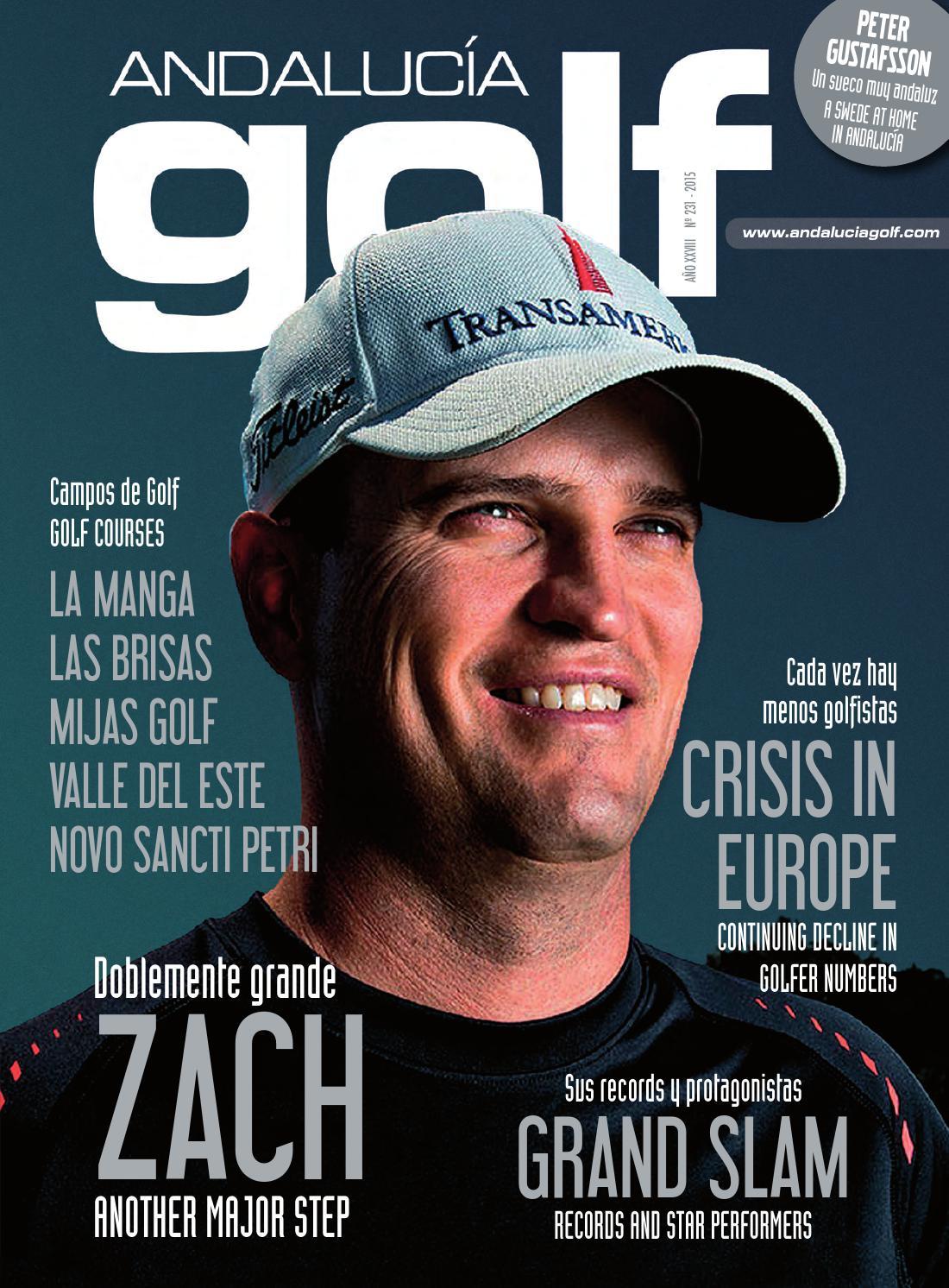 c5ca58d9c Revista Andalucía Golf Nº 231 - Agosto 2015 by Golf Red - issuu