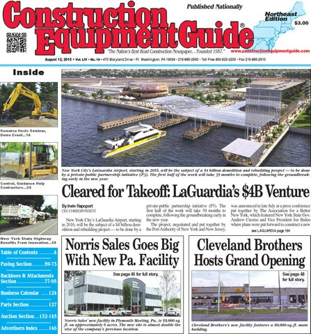midwest 10 2015 by construction equipment guide issuu northeast 16 2015