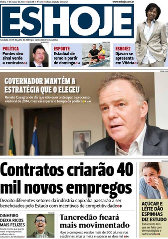Edicao 425 by Jornal ESHOJE - issuu 2f218b107dcdd