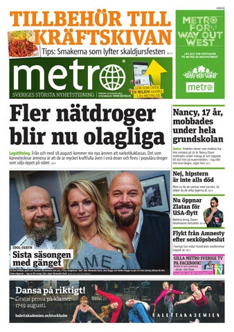 reputable site ecf1c b6807 20150813 se stockholm by Metro Sweden - issuu