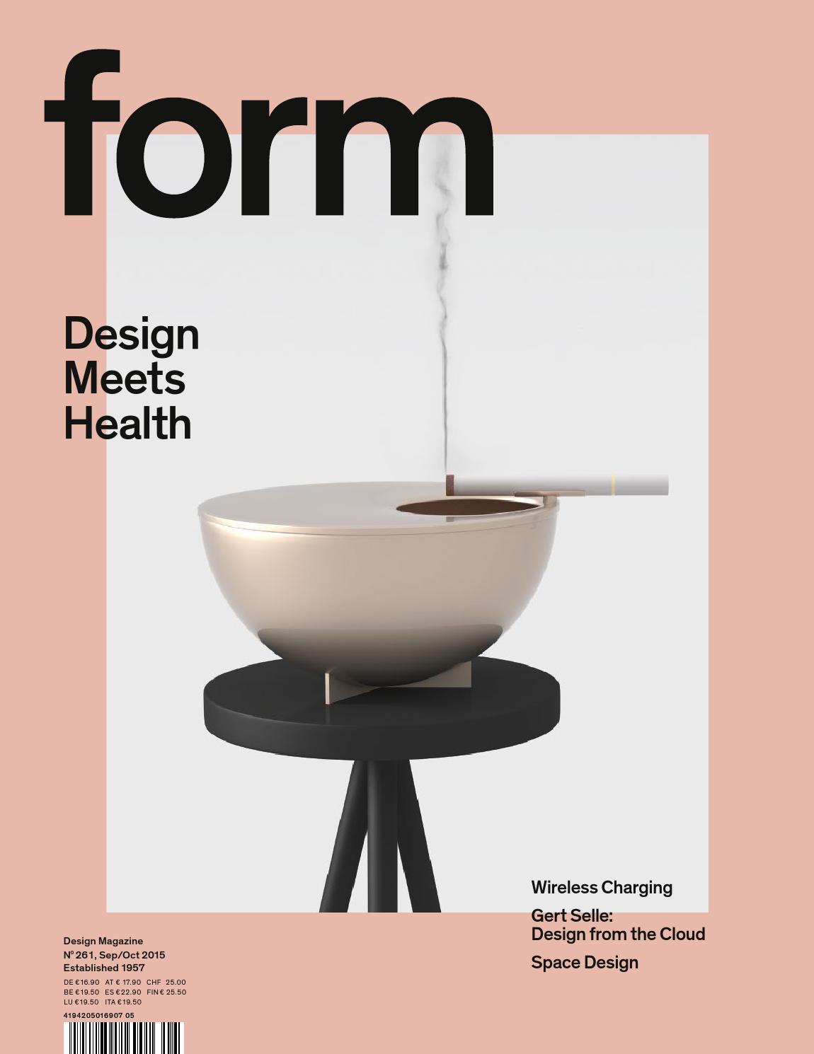 form design zeitschrift form 2. Design Meets Health by Verlag form GmbH & Co. KG - issuu