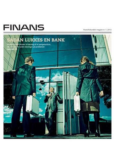 Magasinet Finans nr. 7 2017 by Finansforbundet - issuu 5b9b05c6ccd4b