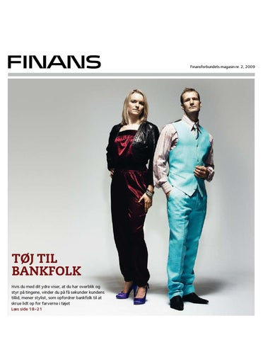 8c7f7156d2a5 Magasinet Finans nr. 2 2009 by Finansforbundet - issuu
