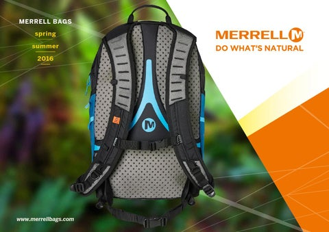 512774a665 Merrell bags - spring/summer 2016 collections by Grown Up Licenses ...