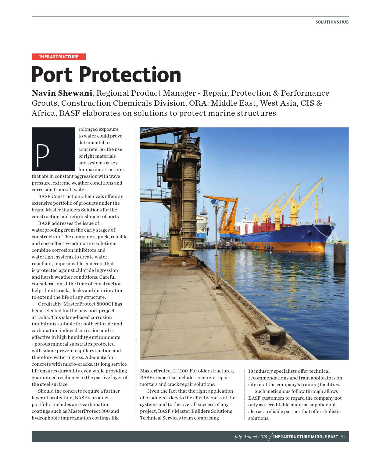 Infrastructure Middle East July/August 2015 by