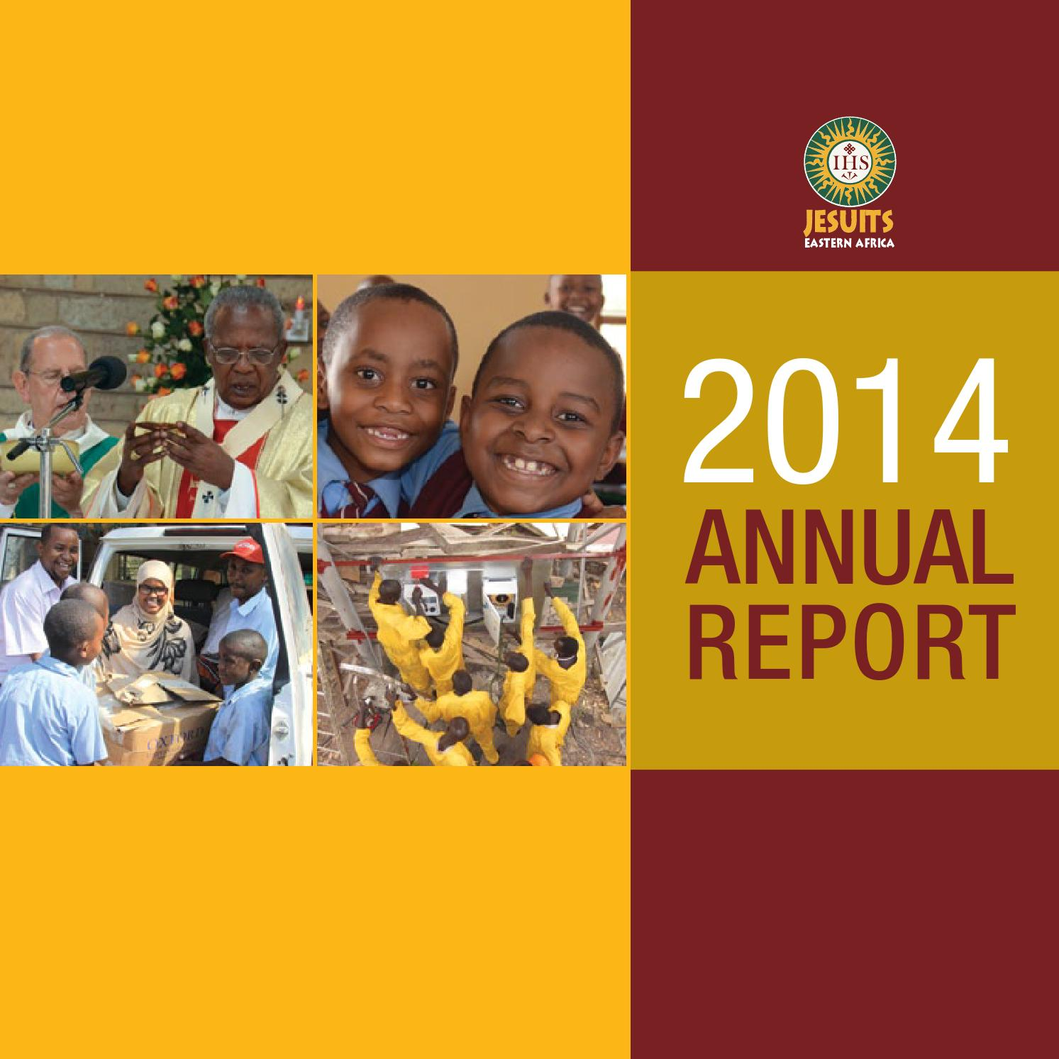 2014 Annual Report By Jesuits Eastern Africa Issuu