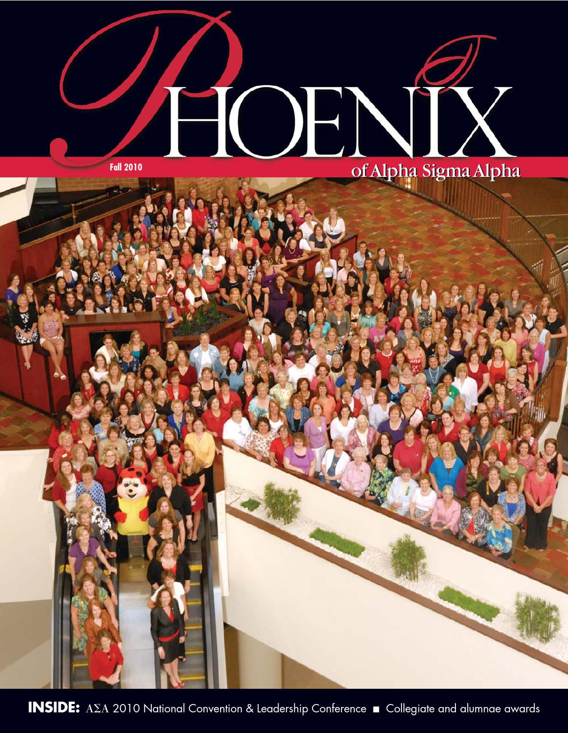 The Phoenix of Alpha Sigma Alpha: Fall 2010 by Alpha Sigma Alpha ...