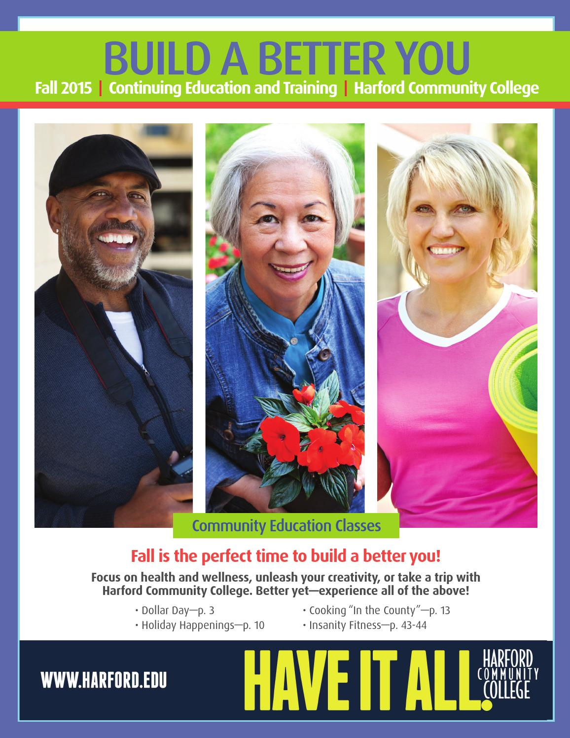 Build A Better You - Fall 2015 by Harford Community College - issuu