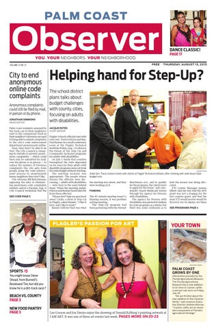 Palm Coast Observer Online 08-13-15 by Brian McMillan - issuu