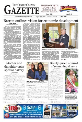 8 13 15 centre county gazette by Indiana Printing & Publishing - issuu