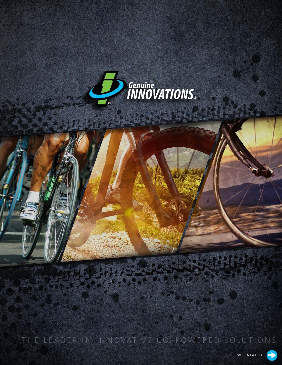 Road Bike Inflator Genuine Innovations 25g Threaded CO2 Refill Cartridge MTB