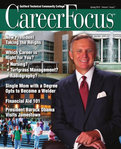 GTCC Career Focus Spring 2012 Edition by Guilford Technical