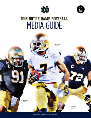 7a5e77c219f 2015 Notre Dame Football Media Guide by Chris Masters - issuu