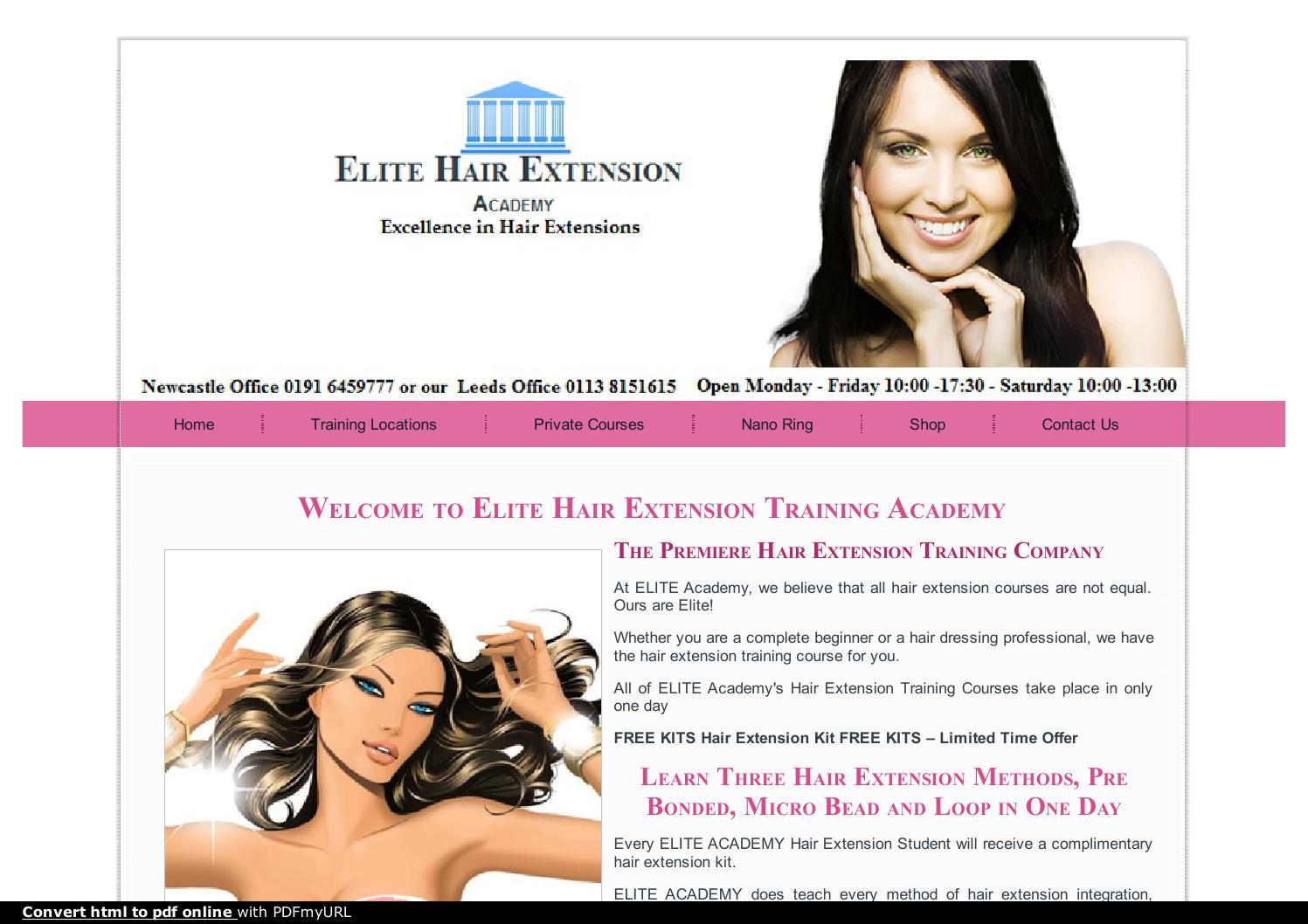 Hair Extension Training Courses By Subham Sarkar Issuu