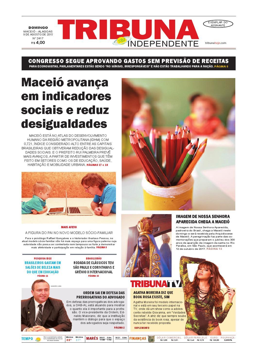 6b87b939644 Edição número 2417 - 9 de agosto de 2015 by Tribuna Hoje - issuu