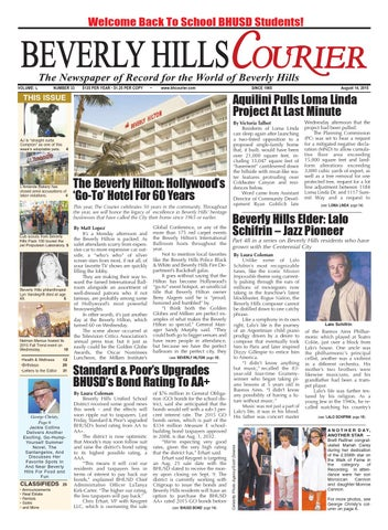 BHCouier 081415 E-edition by The Beverly Hills Courier - issuu