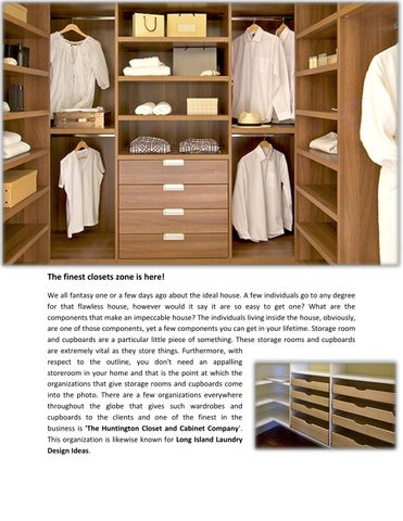 Bon The Finest Closets Zone Is Here! We All Fantasy One Or A Few Days Ago About  The Ideal House. A Few Individuals Go To Any Degree For That Flawless  House, ...