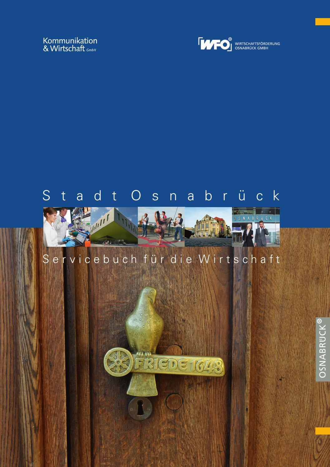 Servicebuch für die Wirtschaft - Osnabrück by WFO Wirtschaftsförderung  Osnabrück GmbH - issuu