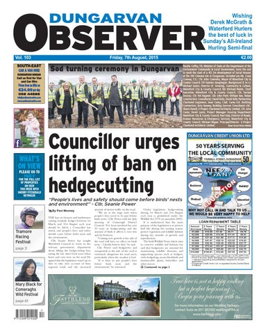 Dungarvan Observer 7 8 2015 Edition By