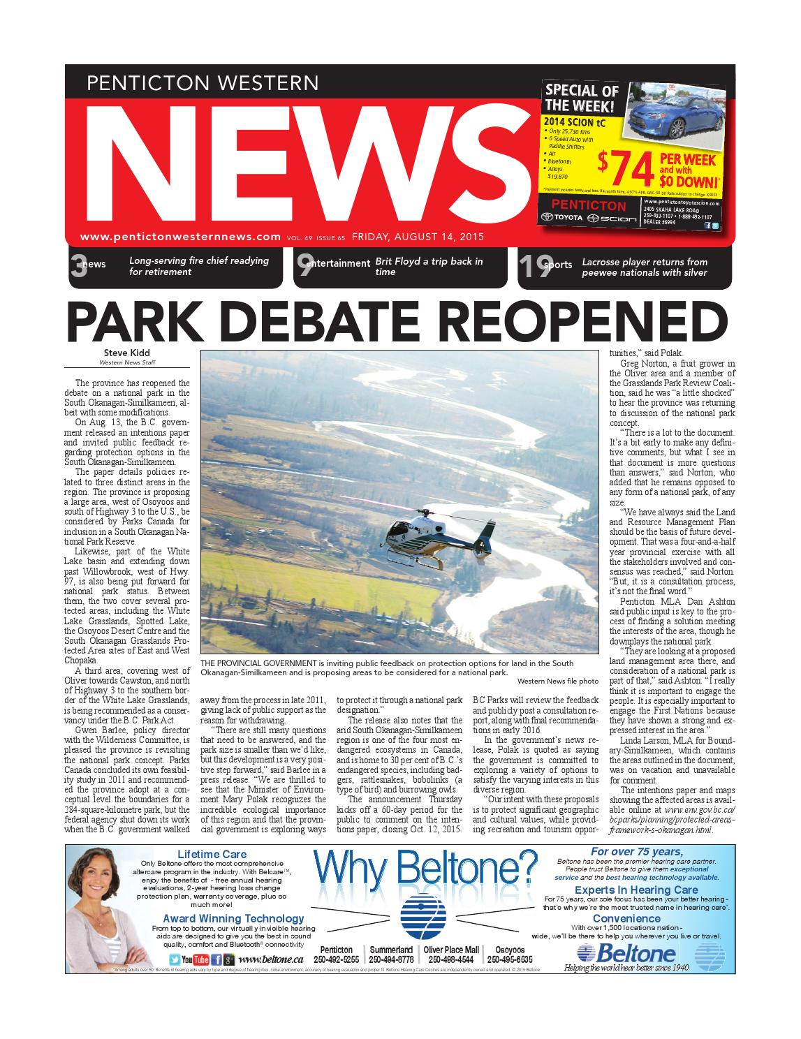 Penticton Western News, August 14, 2015 by Black Press - issuu