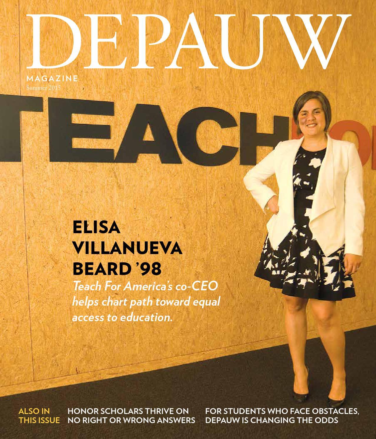 DePauw Magazine Summer 2015