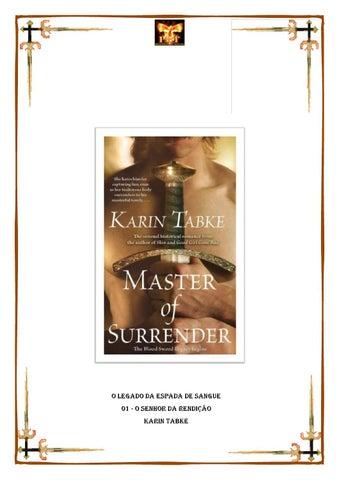 a4e3a280c8a67 O legado da espada de sangue 01 - o senhor da rendição - Karin tabke ...
