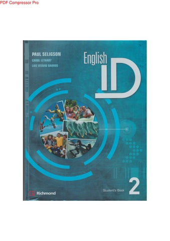 English id 2 students book by yoshae chacn issuu page 1 fandeluxe Image collections