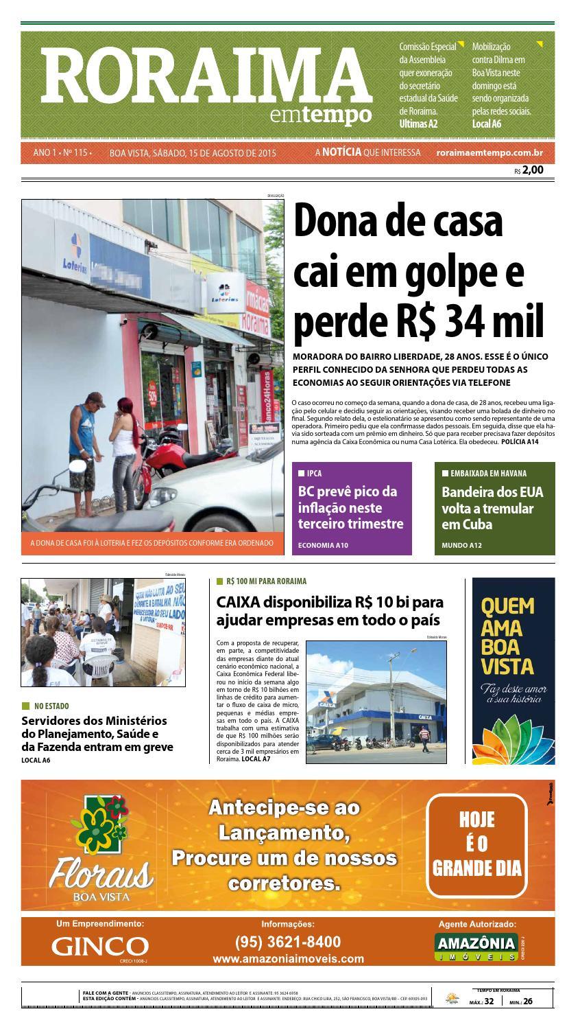 4cbe4b54cd9f4 Jornal roraima em tempo – edição 115 – período de visualização gratuito by  RoraimaEmTempo - issuu