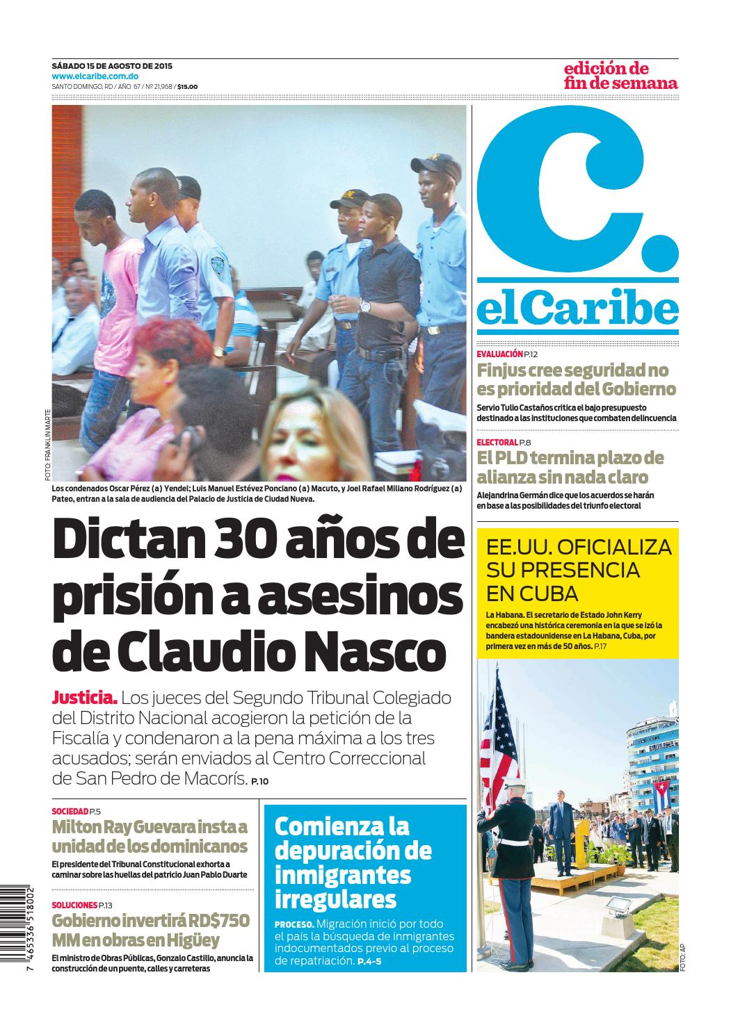 best website 405fe 8c9ab elCaribe by Multimedios del Caribe - issuu