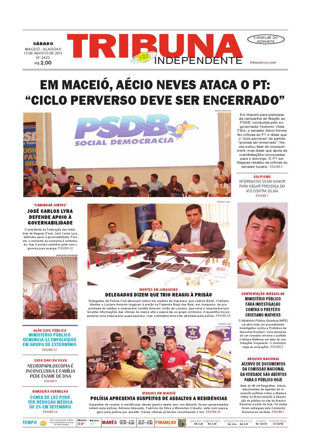 c465947a083 Edição número 2422 - 15 de agosto de 2015 by Tribuna Hoje - issuu