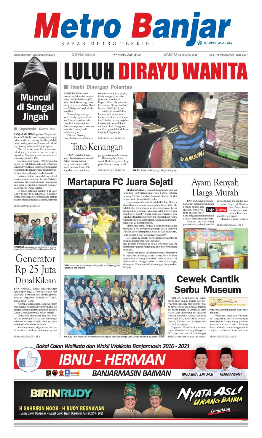 Metro Banjar Sabtu 995422706c