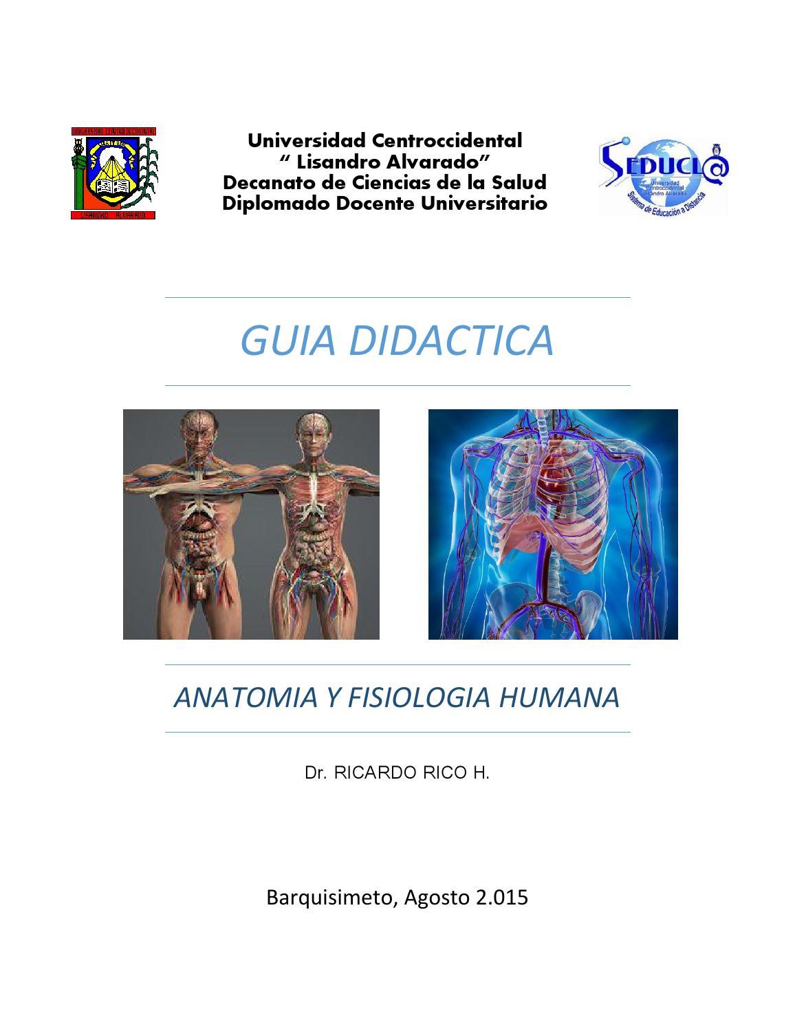Guia didactica de anatomia y fisiologia humana by ricardo rico h - issuu