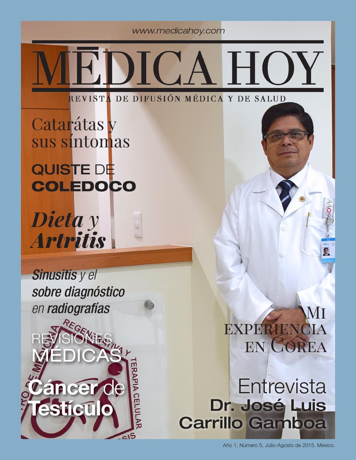 5ta edicion by Médica Hoy - issuu