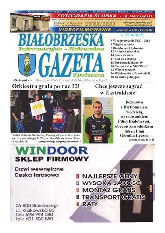Gazeta Białobrzeska Nr 27 Styczeń 2014 By Białorzeska Gazeta Issuu