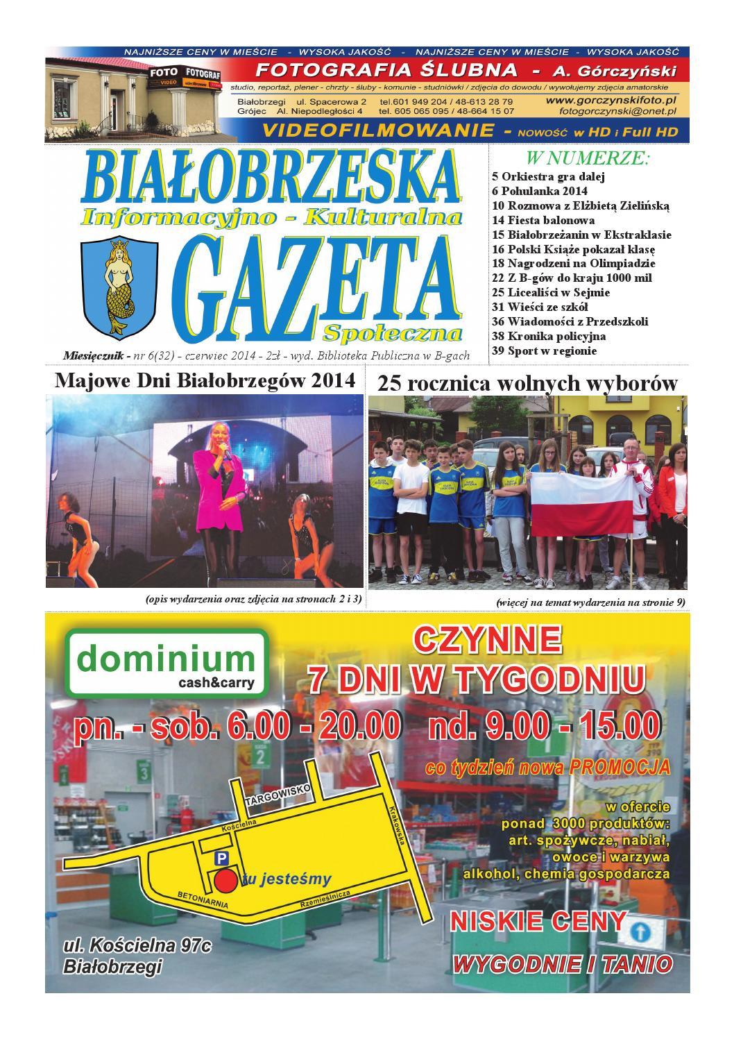Gazeta Białobrzeska Nr 32 Czerwiec 2014 By Białorzeska Gazeta Issuu