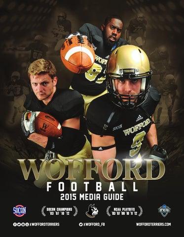 2015 Wofford Football Media Guide by Wofford Athletics issuu  for cheap