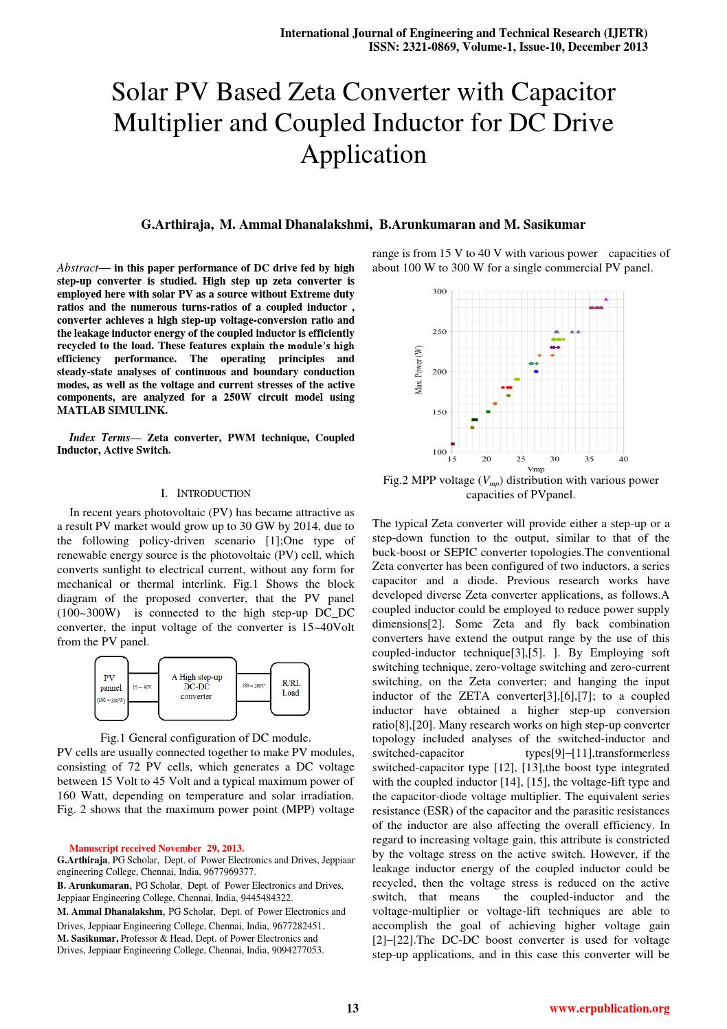 Ijetr012011 By Engineering Research Publication Issuu 138 Volt 20 A Transformerless Power Supply Circuit Diagram