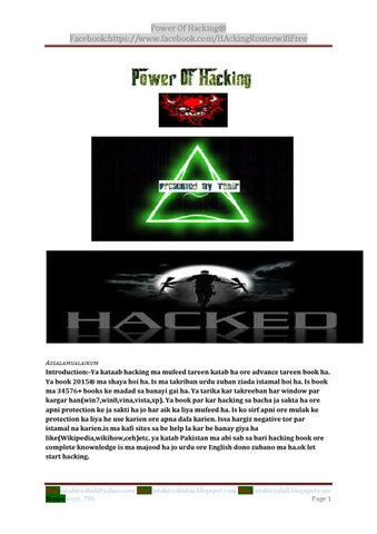 Power Of Hacking (part1) by M Tahir - issuu