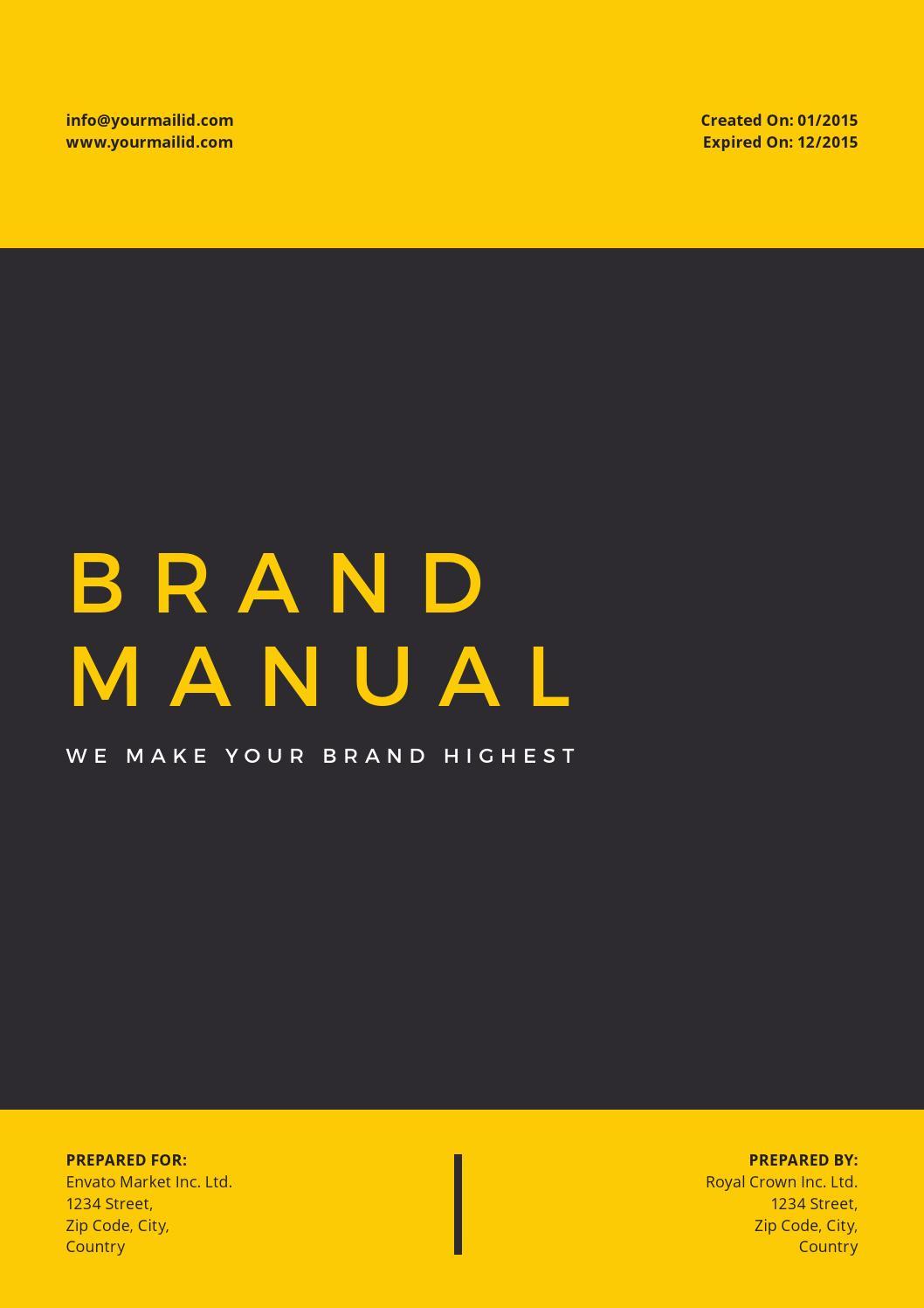 Brand Manual By Royalcrown