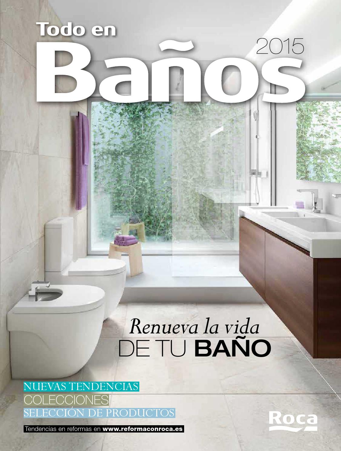 Todo en ba os 2015 by losdescuentos issuu for Inodoros bricomart