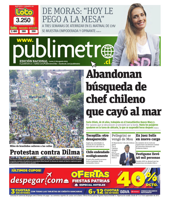 20150817_cl_santiago by Publimetro Chile - issuu