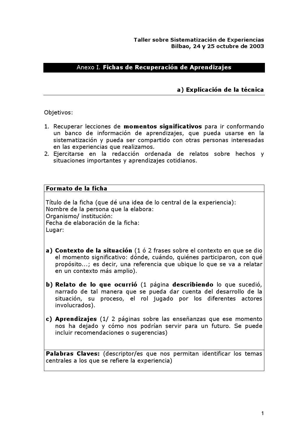 Fichas de recuperación by YANETH FABIOLA DAZA PAREDES - issuu