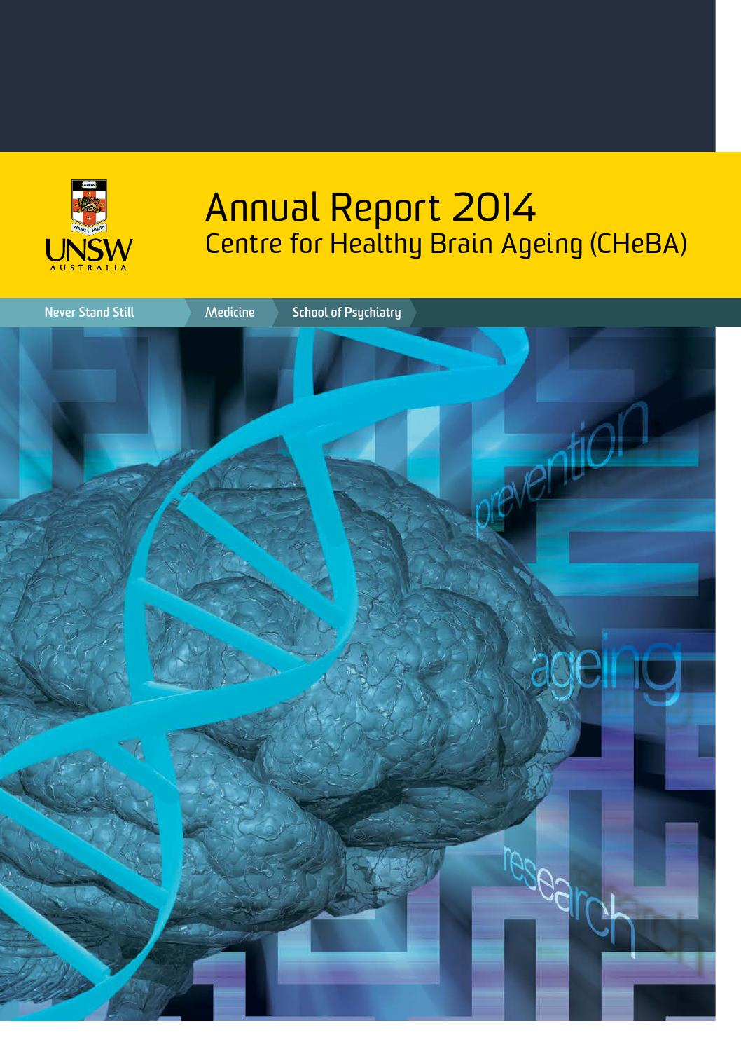 CHeBA Annual Report 2014 by CHeBA - issuu