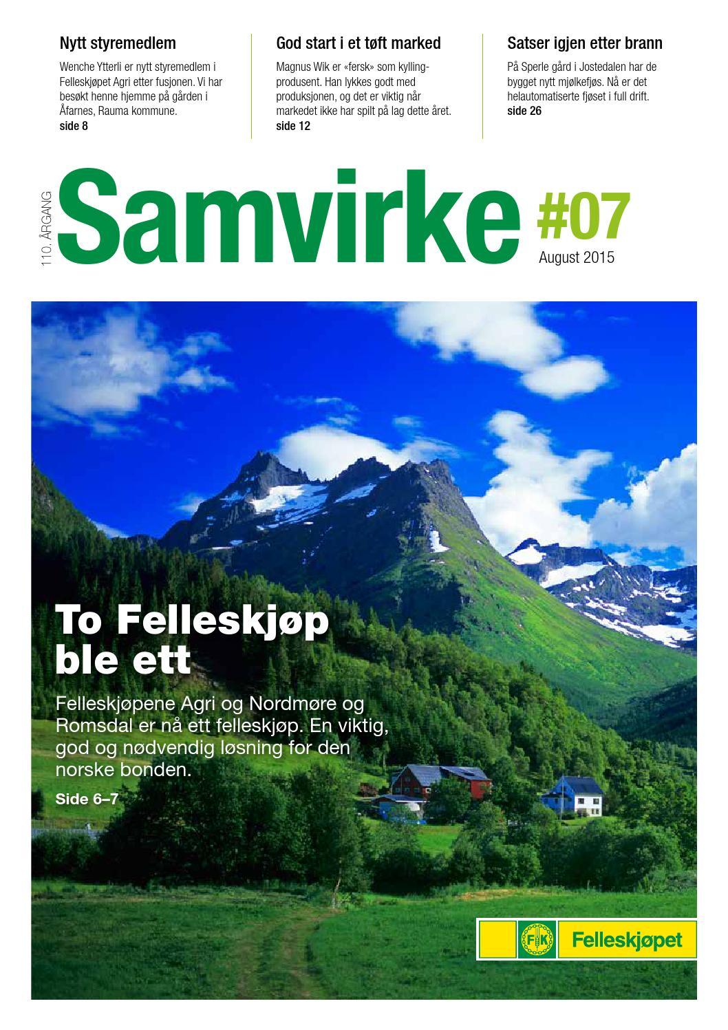 0ba4a6b7 Samvirke nr 7. - 2015 by Felleskjøpet Agri - issuu