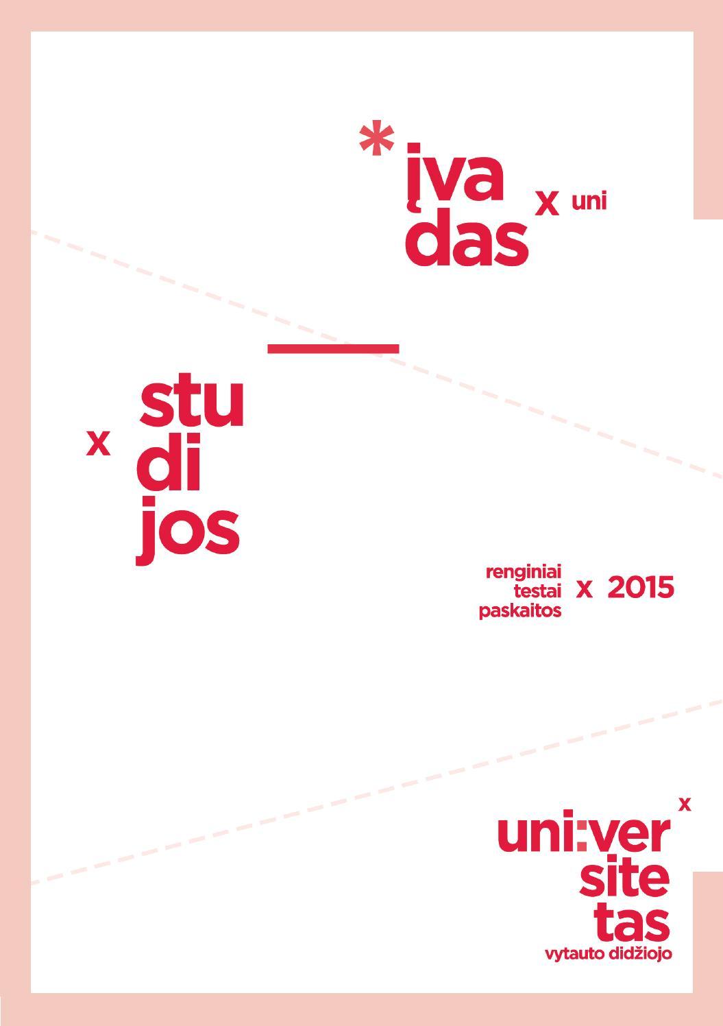 Įvadas į studijas VDU by Vytautas Magnus University - issuu