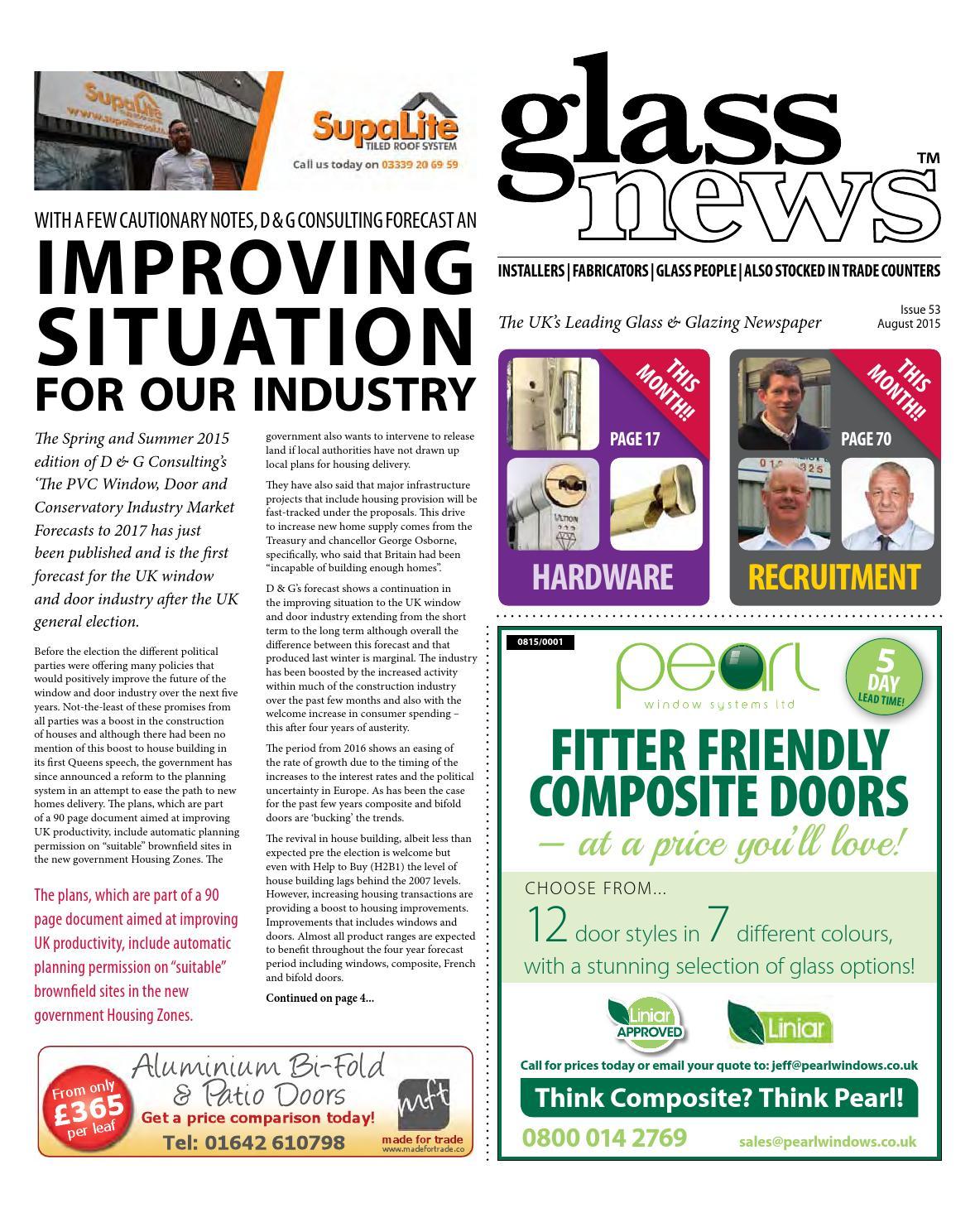 Glass News August 2015 by Christina Shaw - issuu