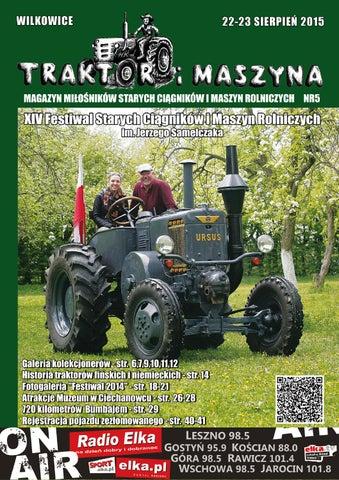 Traktor i Maszyna 2015 by Andreas cieslik - issuu