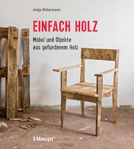 rittermann einfach holz by haupt verlag issuu. Black Bedroom Furniture Sets. Home Design Ideas