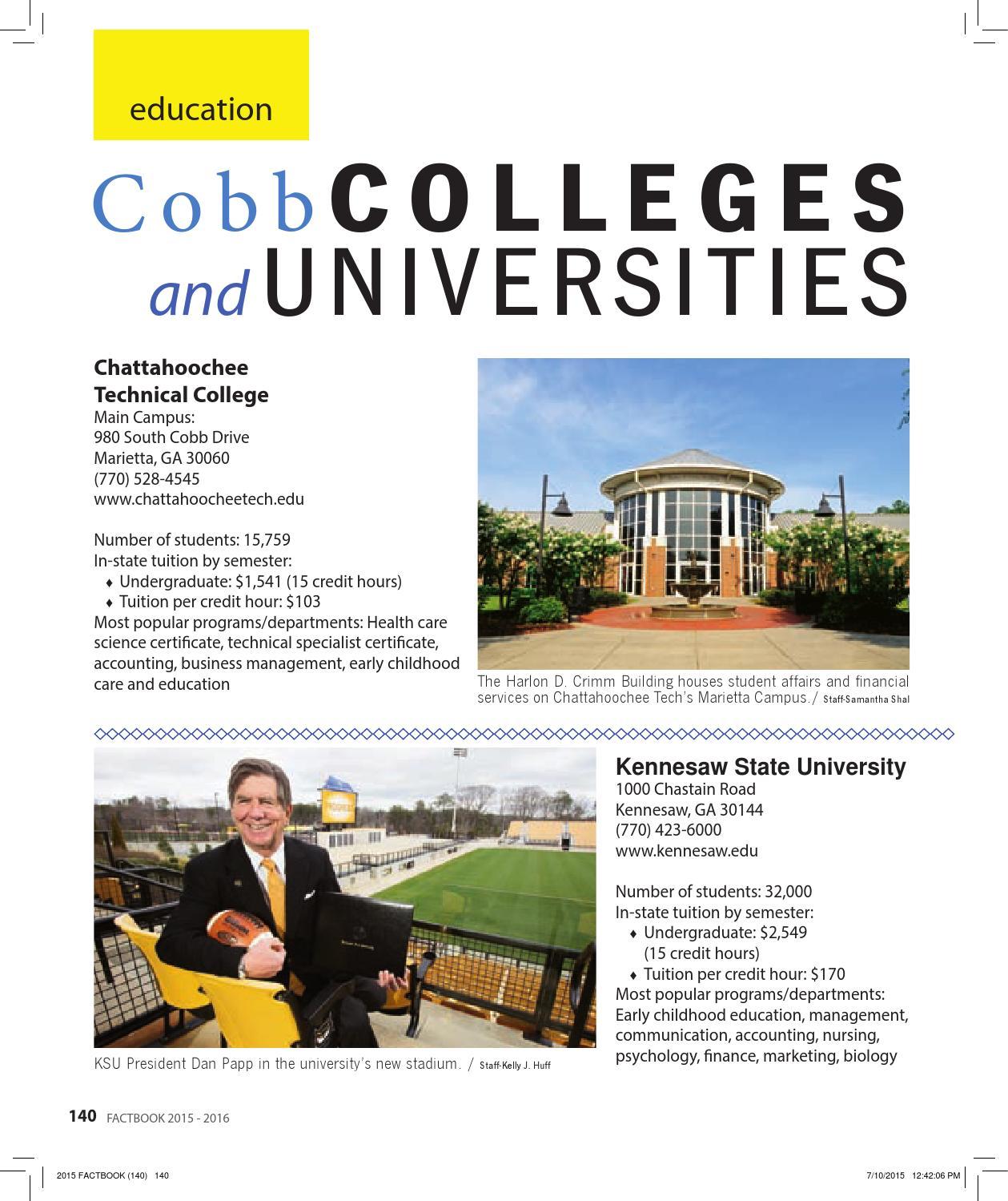 Cobb Factbook 2015 By Otis Brumby Iii Issuu